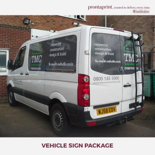 Vehicle Sign Packages