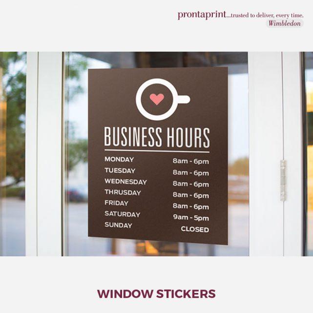 WindowStickes