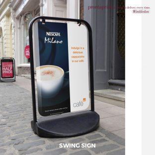Swing Sign