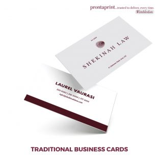 Traditional Business Cards