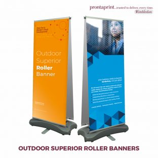 Outdoor Superior Roller Banners