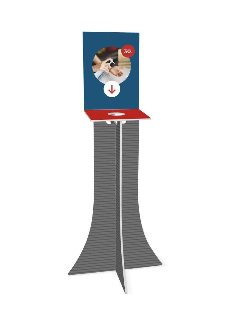 Hand Sanitiser Dispenser Stand