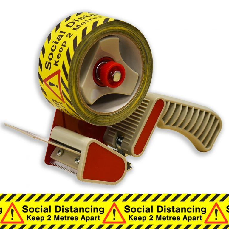 Social Distancing Floor Tape